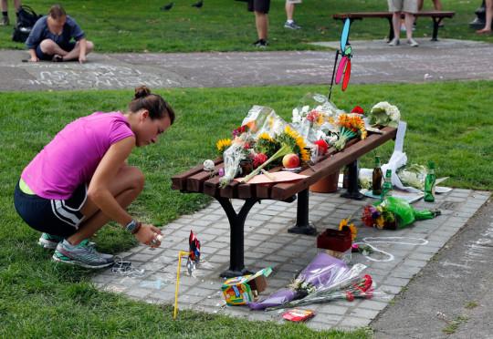 Robin Williams homenaje Boston fotos 04