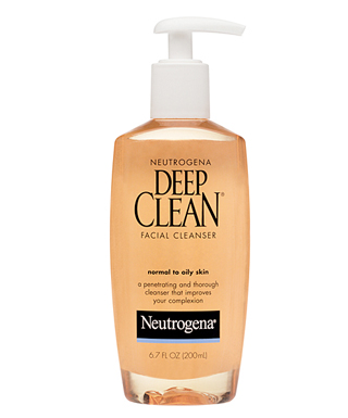 Deep Clean Facial Cleanser de Neutrogena